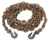 """10038-16BRL - 3/8"""" x 16' Grade 70 Chain Assembly With Grab Hooks, 25/BRL"""