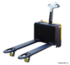 Electric Pallet Truck with 3300 lb Capacity - 25X48 Forks