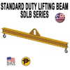 Picture of Channel Lifting Beam - 4 ft. with 25 Ton Capacity - Standard Duty  - SDLB- 25-4
