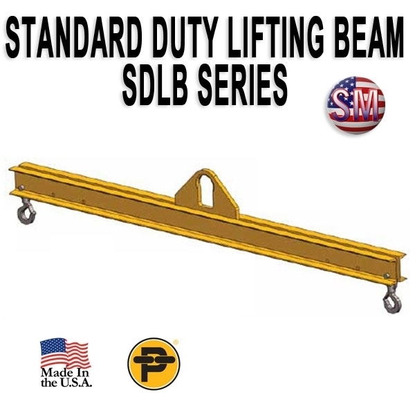 Picture of Channel Lifting Beam - 14 ft. with 7.5 Ton Capacity - Standard Duty  - SDLB- 7.5-14