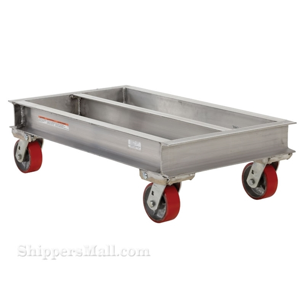 Aluminum Channel Dolly 2000 Lb. capacity 40w X 42L Part #: ACP-4042-20