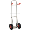 Folding dolly with black urethane flat free wheels. Nose plate folds up to make it more flat. Flat-Free with Black Urethane Tires #: DHHT-250A-FD-UBKF