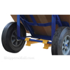 Stair Hand Truck with four Handles allows two people to move dolly with cargo up and down stairs. #: hand-tpe