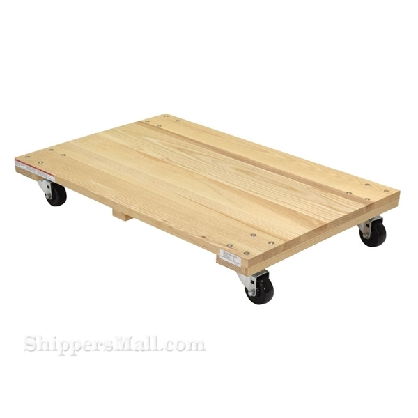 Picture of Hardwood Dolly-Solid Deck 0.9k Lb 24x36