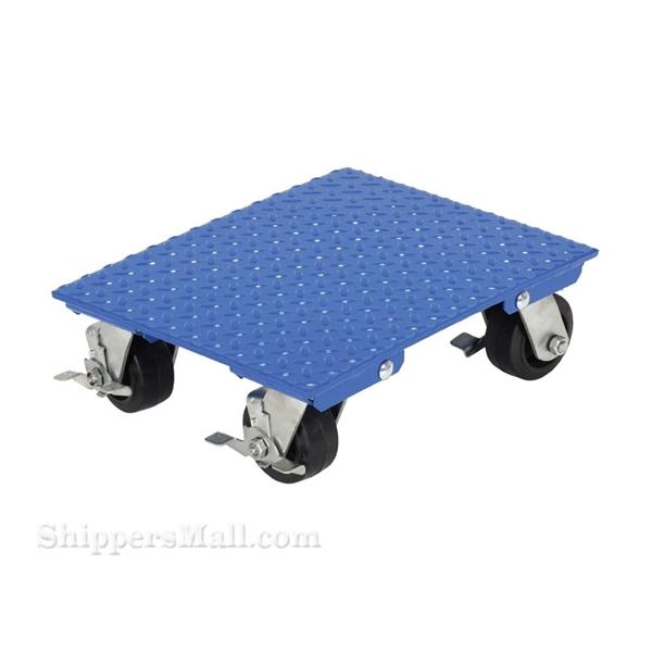 "Steel Plate Dolly 1200 capacity 24 X 30 Swivel"" Part #: VPLDO/S-2430-AS"