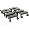 Steel dolly set of 4 dollies with v groove for have hundreds applications. Part: sdol-4