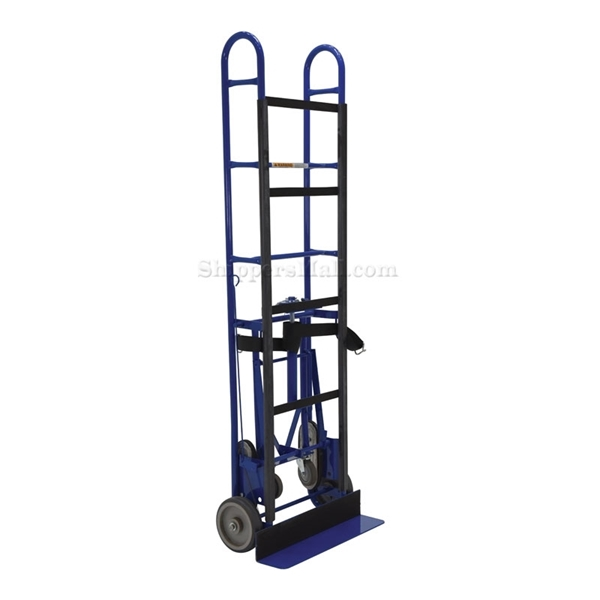 "Appliance dolly with ratchet to tighten the strap. Has a 1200 lb capacity. 72"" high. Vestil Part #: APPL-1200-72F"