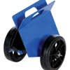 Heavy-duty plate/slab dolly with auto-clamp feature for moving flat objects. - PLDL-HD-4-8MR