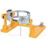 Drum carrier/rotator fork truck extension.  DCR-205-15