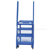 Stockpicker cart for industrial use High duty 1000 lb capacity. Vestil Part SPS-HD-2852