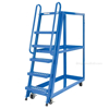 Stockpicker carts for industrial use High duty 500 lb capacity. Vestil Part SPS-HF-2252 front