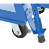 Stockpicker carts for industrial use High duty 500 lb capacity. Vestil Part SPS-HF-2252 zoom wheel