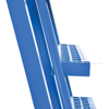 Stockpicker carts for industrial use High duty 500 lb capacity. Vestil Part SPS-HF-2252 zoom ladder