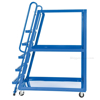 High Frame Cart 28 X 52 Mold-On-Rubber casters, #: SPS-HF-2852 side view