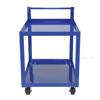 Steel Service Cart Two 22 X 36 Shelves - Model #: SCS2-2236