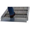 "Walk Ramps With Snow/Ice Grip & Hand Rails - 28"" Wide Overlap Style sure footing"