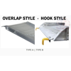 "Walk Ramps With Snow/Ice Grip & Hand Rails - 28"" Wide Overlap Style illustration"