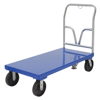 "Steel Platform Truck 3600 lb. Capacity 24 X 48 with 8""x2"" Glass Filled Nylon casters. Vestil Part #: SPT-2448"