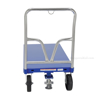 "Steel Platform Truck 3600 lb. Capacity 24 X 48 with 8""x2"" Glass Filled Nylon casters. Front Vestil Part #: SPT-2448"