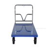 "Steel Platform Truck 3600 lb. Capacity 30 X 60 with 8""x2"" Glass Filled Nylon casters. Part #: SPT-3060 front"
