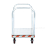 Heavy Duty Aluminum Treadplate Platform Truck with Double Handles, Measures 24X36. Double handle. Part #: ATP-C-2436-2HDL front