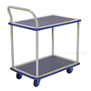 Service cart with double deck, Single Handle.  Part #: TRS-1927-2