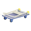 Steel Truck with Folding Handle 24X31 with foot brake. Deck size: 24x31 Part #: TRS-2431-FB