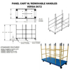 Platform Cart with Versatile Dividers - Part: VERSA-3672