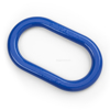 Peerless Oblong Master Links, Chain Rigging Component, blue powder coat