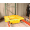 Pallet Rack-Containment Sump with Drain, p/n; PRS-51-D and PRS-51-ND