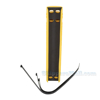 High Impact Plastic Upright Racking Guard 20 Inches long, P/N: PRUD-20-2833