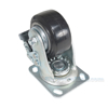 Mold On Rubber (On Aluminum) Casters Model: CST-VE-4X2MRA-SWTB bottom
