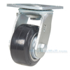 Mold On Rubber (On Aluminum) Casters swivel Model: CST-VE-4X2MRA-S