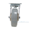 Rubber casters  swivel with total brake CST-KSM-6X2MR-SWTB a