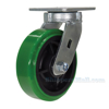 High Tech Casters for industrial use, high-tech non-marking polyurethane, Model; CST-F40-6X2DT-S