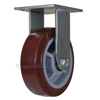 High quality Caster, for industrial use, polyurethane casters (maroon tread), Model; CST-C44-6X2PU-R