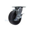 Industrial Caster, glass-filled nylon casters, Model; CST-C44-6X2GFN-SWB