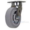 Industrial Caster, thermoplastic rubber casters, Model; CST-FC47-6X2DK-S