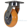 Industrial Caster, heavy duty polyurethane casters, Model; CST-FC47-6X2SI-S