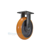 Industrial Caster, heavy duty polyurethane casters, Model; CST-FC47-8X2SI-R