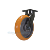 Industrial Caster, heavy duty polyurethane casters, Model; CST-FC47-8X2SI-S