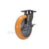 Industrial Caster, heavy duty polyurethane casters, Model; CST-FC47-8X2SI-SWB