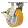 Industrial Caster, extra hd kingpinless casters, Model; CCST-APKING-6X3PU-SWB a