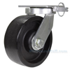 Industrial Caster, high capacity non-marking glass filled nylon casters, Model; CST-HTY-8X3GFN-4PS