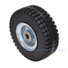 Industrial wheels, solid rubber wheels, Model; WHL-AVLE-10SR-Z