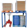 Steel pallet decker for when you dont have decking beams or etrack installed allows you to double deck your cargo.