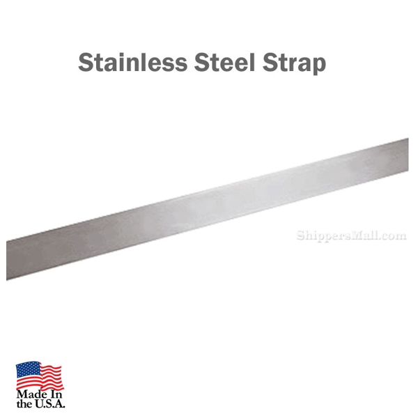 Stainless Steel Straps Cut to Length Group Number: FM-SS-STRAP-N
