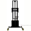 "Double Mast Fully Powered Electric Stackers up to 125"" High a"