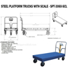 Picture of Steel Platform Trucks w Weigh Scale