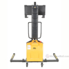 Narrow Mast Stacker with Power Lift and adjustable legs. SLNM-63-AA d